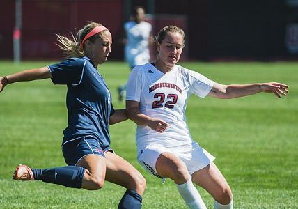 UMass women's soccer shut out by Rhode Island