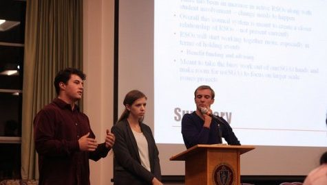 SGA discusses reorganization of RSO system, activities fee changes