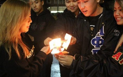 Candlelight vigil held in recognition of Domestic Violence Awareness Month