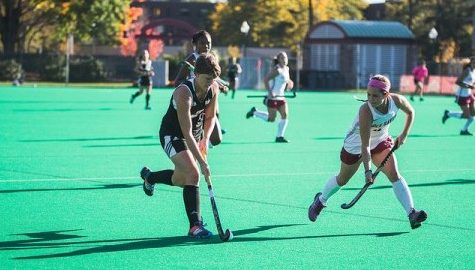 Melanie Kreusch has career day in UMass field hockey team's win over Saint Francis