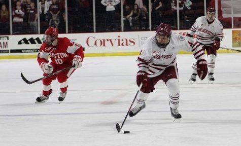 UMass hockey splits weekend series in Boston
