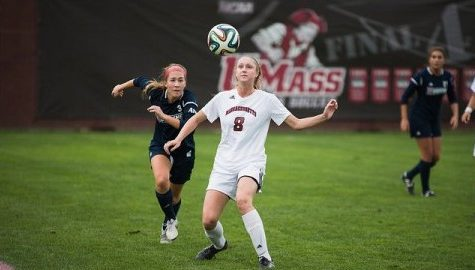 UMass women's soccer attempts to retain playoff position with pair of weekend games