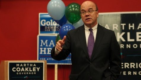 UMass Democrats urged to campaign and vote by Reps. Kennedy and McGovern