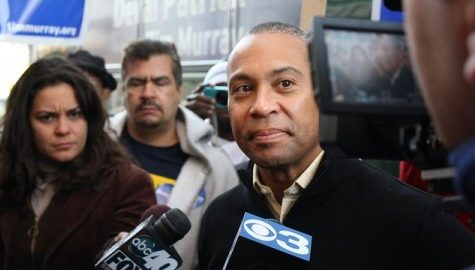 Gov. Deval Patrick visits Amherst, awards $1.5 million grant for downtown development