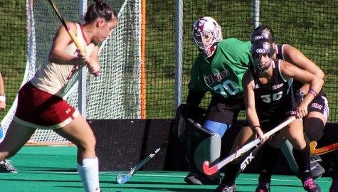 Sam Carlino remains a rock in net for UMass field hockey
