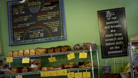 The Black Sheep Deli's atmosphere appeals to both students and locals