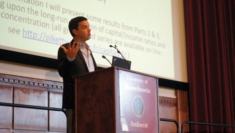 Thomas Piketty speaks to UMass community on foreign and American economy