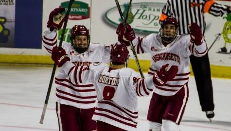 UMass hockey looks to end road trip on a high note with weekend series against Maine