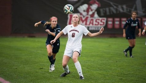 UMass women's soccer hitting its stride just in time
