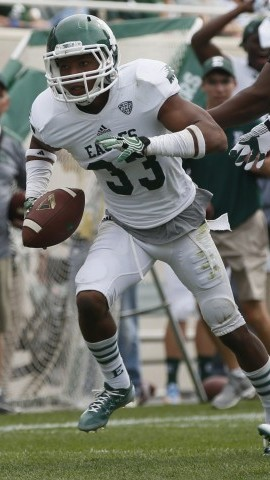 Eastern Michigan defensive back DaQuan Pace  (Julian H. Gonzalez/Detroit Free Press/MCT)