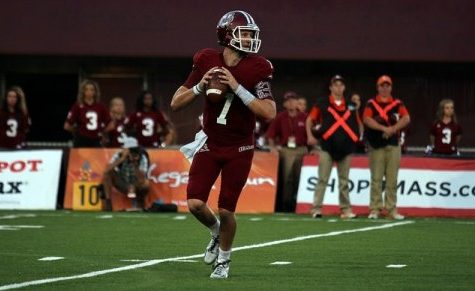 UMass finishes off Kent State 40-17, earns first victory of 2014