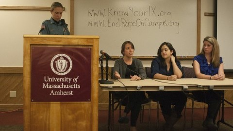 Students' rights in regard to campus sexual assault on October 25, 2013(Shaina Mishkin/Collegian File Photo)