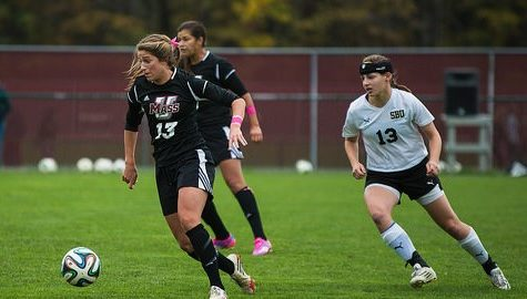 UMass women's soccer falls to La Salle 3-0, ending season