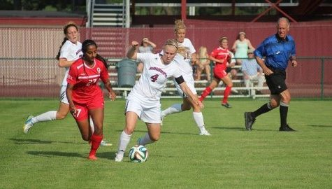 UMass women's soccer's Sverrisdóttir balances a soccer career between two different countries