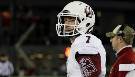 Frohnapfel's season in jeopardy following leg injury, while Sharpe shines in UMass' win over Ball State