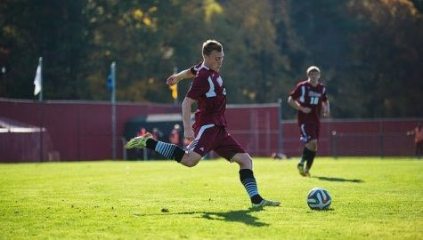 UMass men's soccer eliminated from playoff contention with loss to Davidson on Sunday
