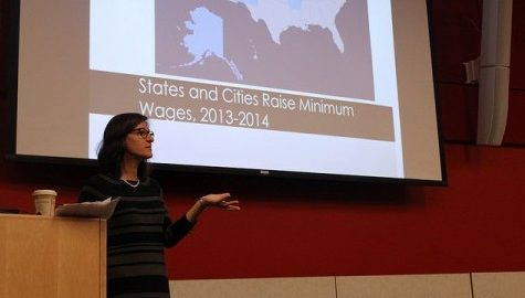 Stephanie Luce discusses the increase of low-wage work worldwide