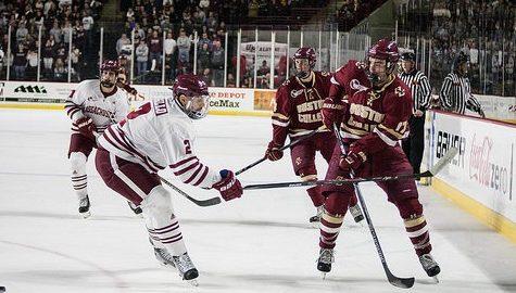 Frustration haunts Minutemen in 5-3 loss to Boston College
