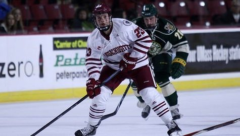 UMass hockey falls to Vermont, 3-1