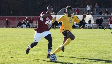 UMass men's soccer sends its two seniors off in winning fashion.