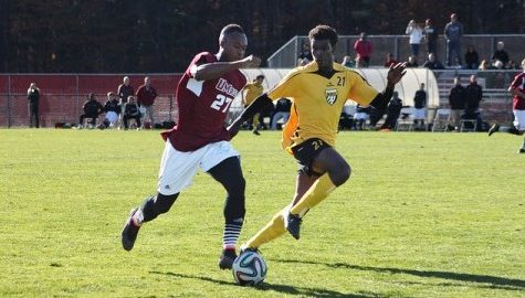 UMass men's soccer's season displays growth despite adversity