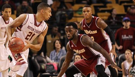 Second half surge carries UMass basketball to 71-62 victory over Boston College