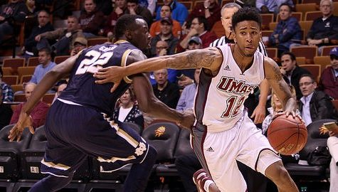 UMass guard Trey Davis: 'There's a lot coming at me right now'