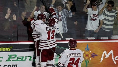 UMass hockey knocks off No. 14 Quinnipiac Friday night