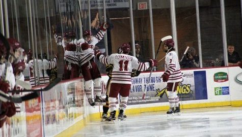 UMass hockey prepares for nationally ranked Hockey East foes BC, Vermont