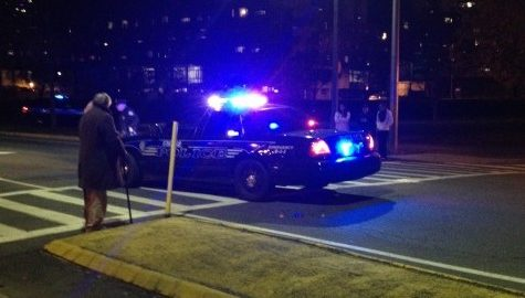 Pedestrian struck by vehicle in crosswalk Thursday evening