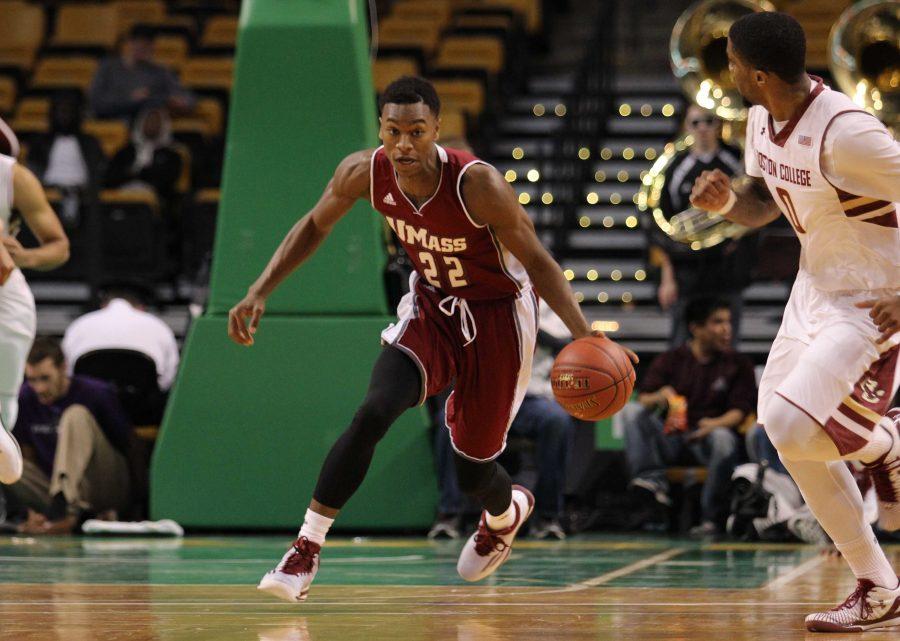 SLIDESHOW: UMass Basketball at TD Garden
