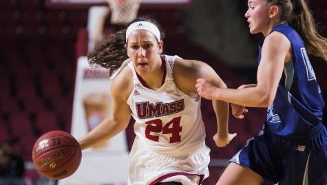 UMass women's basketball secures first victory of the season against Maine