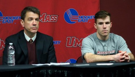 UMass commits 16 penalties in loss to Notre Dame