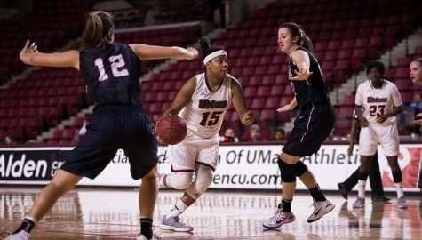 Pierre-Louis, Dillard shine in UMass victory over Holy Cross