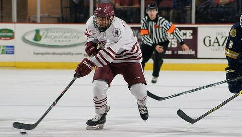 UMass hockey's comeback falls short in 7-5 loss to Notre Dame