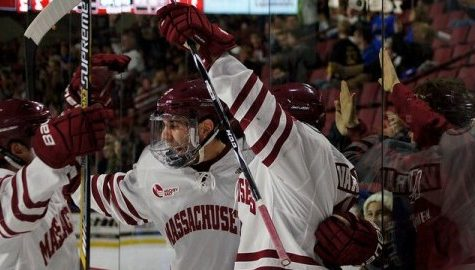 UMass hockey tops Air Force to close out Catamount Cup play