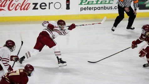 UMass falls to Northeastern in Brandon Montour's debut