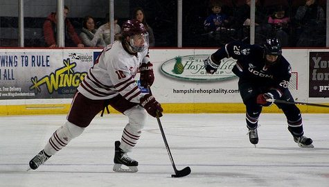 UMass hockey looks to build momentum against UNH in weekend series