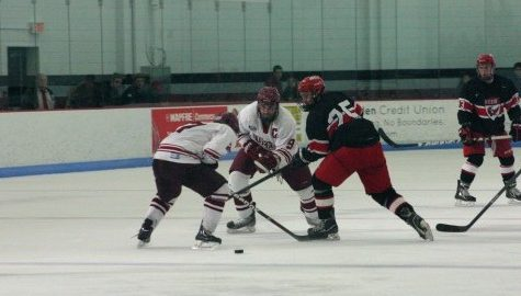 UMass club hockey salvages weekend with tie against NYU on Saturday