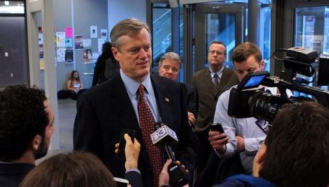 Gov. Charlie Baker's inauguration met with mixed feelings