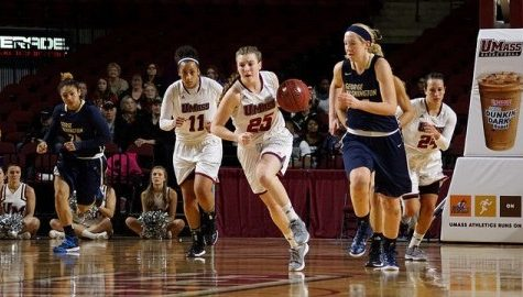 UMass women's basketball faces off against tenacious Fordham defense
