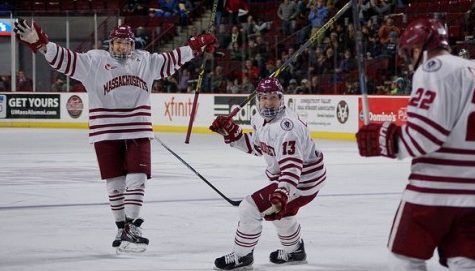 UMass races past New Hampshire in high-scoring final period