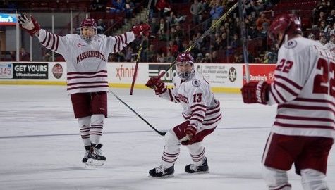 UMass hockey's Brandon Montour is ready for liftoff