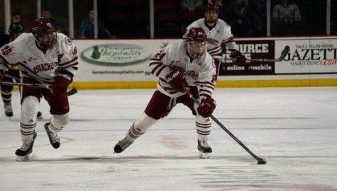 UMass hockey hopes to ride momentum into Friday's matchup against Boston University