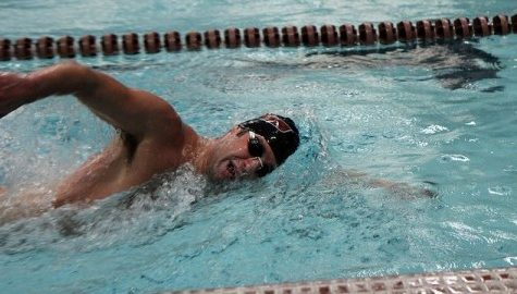 Men's and women's swimming and diving teams wrap up third-place finishes at Dartmouth Invitational