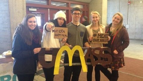 MASSPIRG urges McDonalds to stop purchasing meat raised with antibiotics