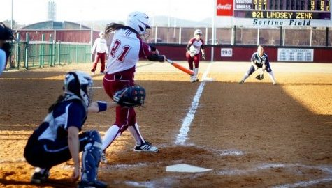 UMass softball opens season with up and down play in Houston