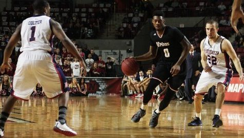 UMass basketball determined to continue winning streak with date against conference-leading Rhode Island Wednesday