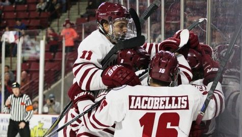 UMass avoids déjà vu in emotional overtime victory on Senior Night