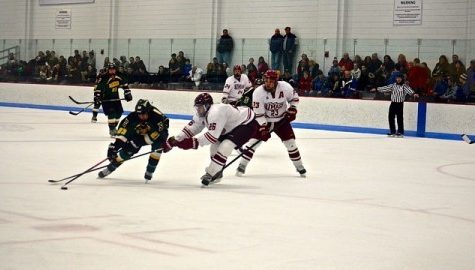 UMass club hockey rides offensive attack in victory over Siena